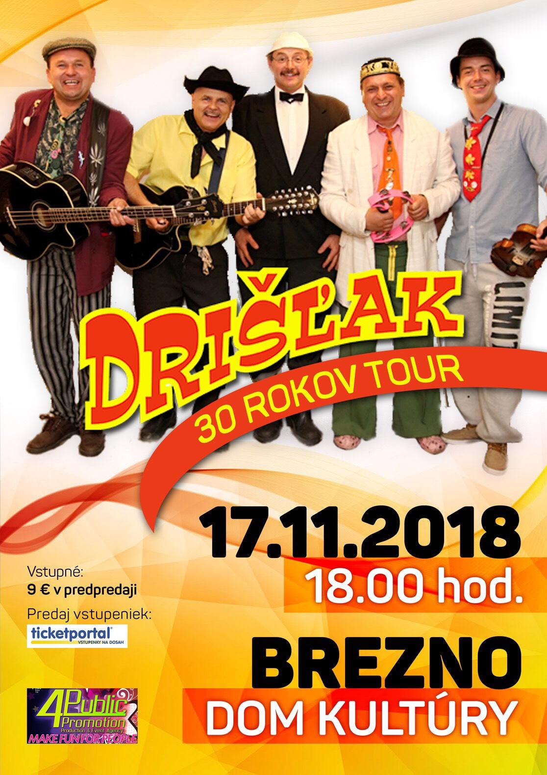 picture DRIŠĽAK 30 TOUR