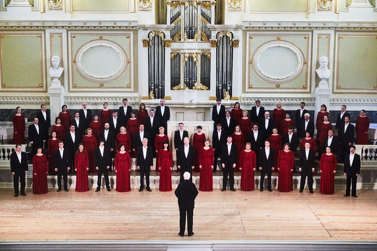 picture Spevácky zbor Capella z Petrohradu