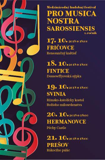 picture Pro musica nostra Sarossiensis/ Fričovce