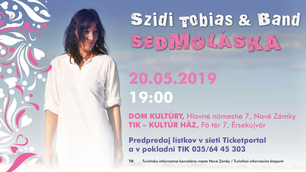 picture Szidi Tobias & Band -  Sedmoláska 2019