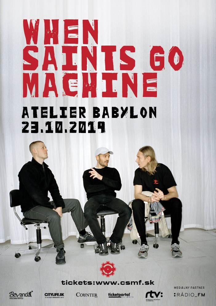 picture When Saints Go Machine