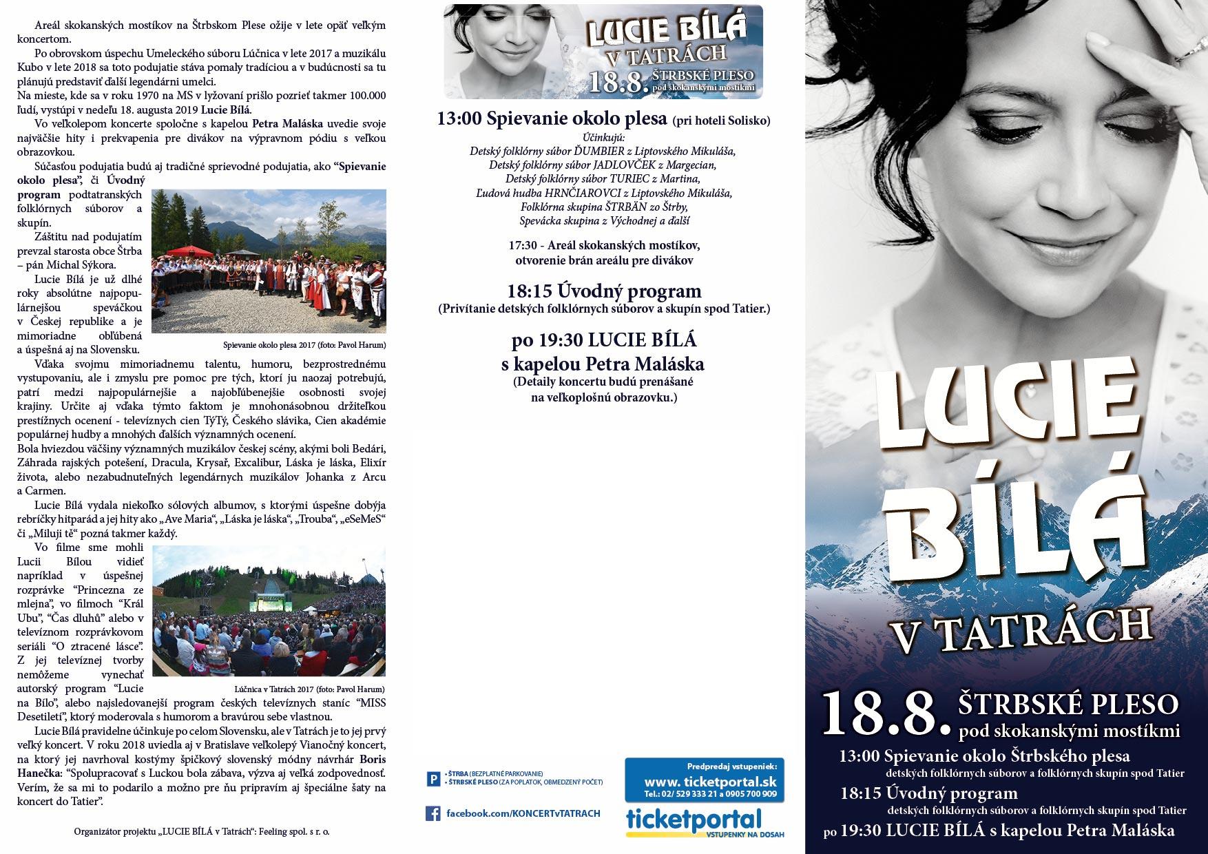picture LUCIE BÍLÁ v Tatrách