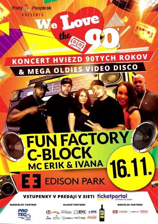 picture We Love 90,vol.8-Fun Factory, C-Block