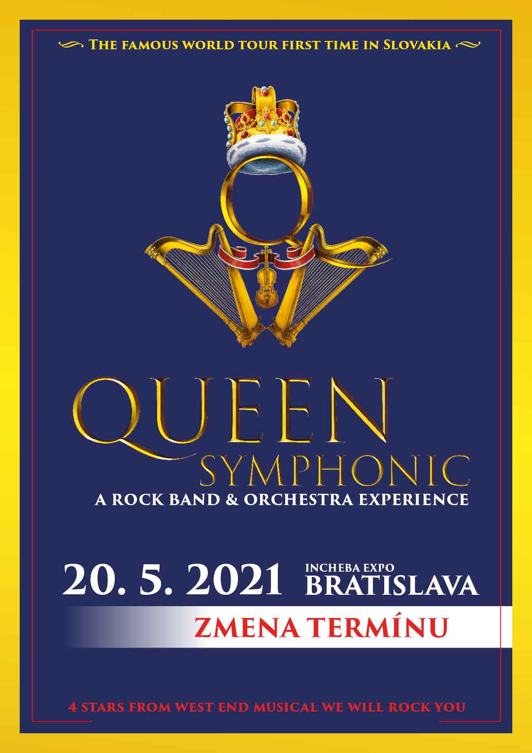picture Queen Symphonic: Rock Band & Orchestra Experience
