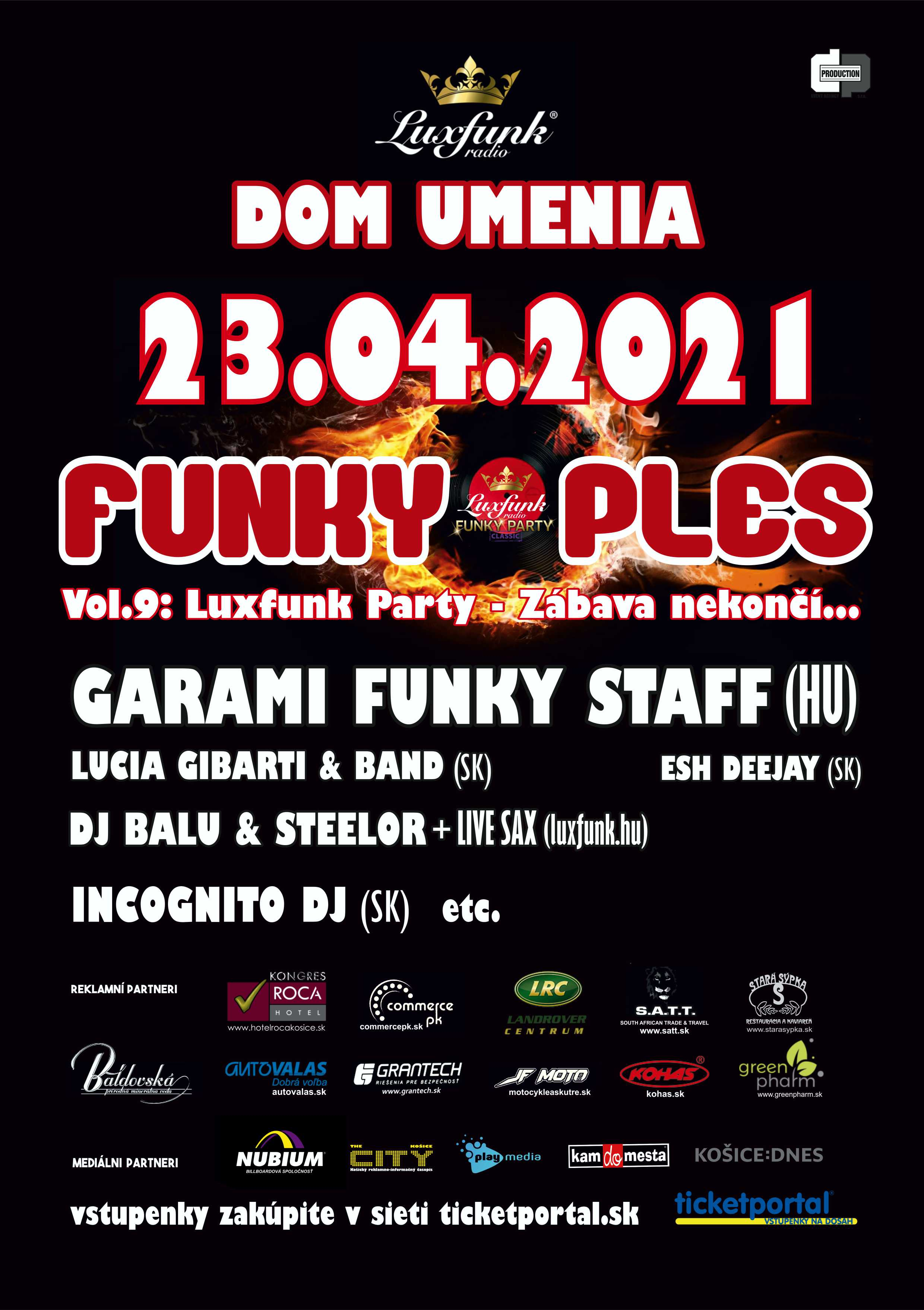 picture FUNKY PLES 2021 – vol.9: LUX-FUNK PARTY