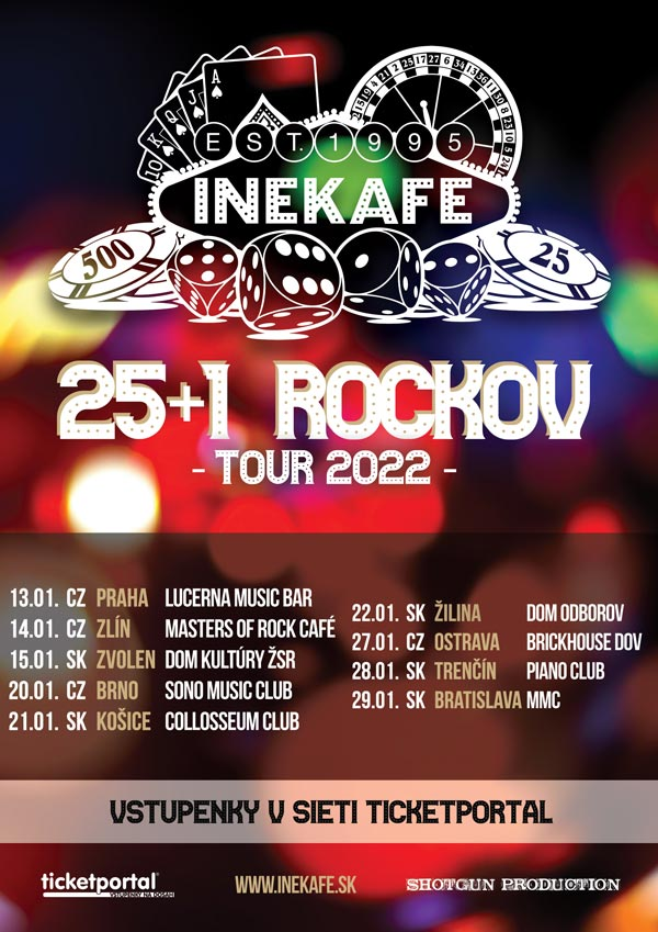 picture INEKAFE - 25+1 ROCKOV - TOUR 2022