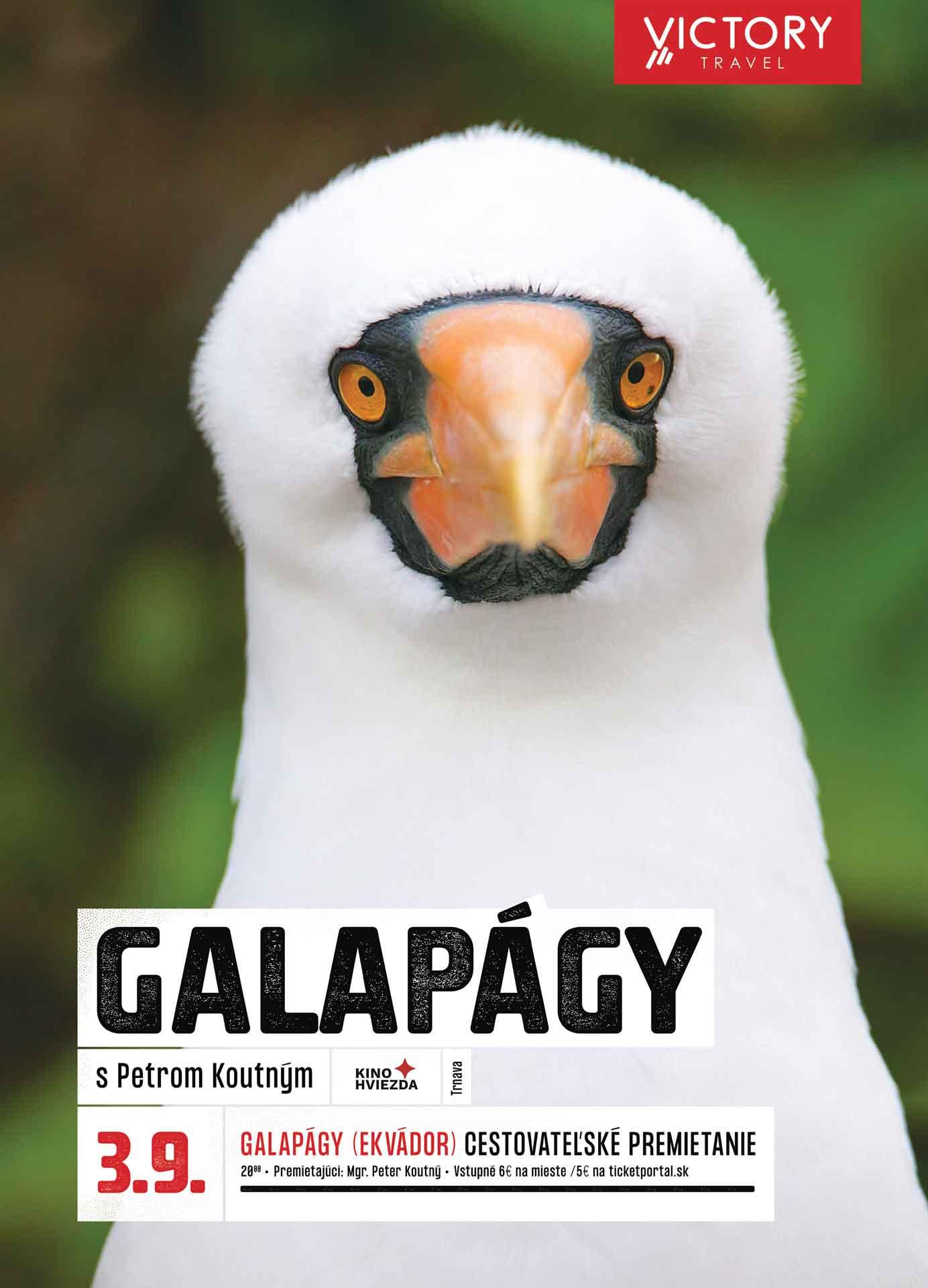 picture Galapágy s Petrom Koutným