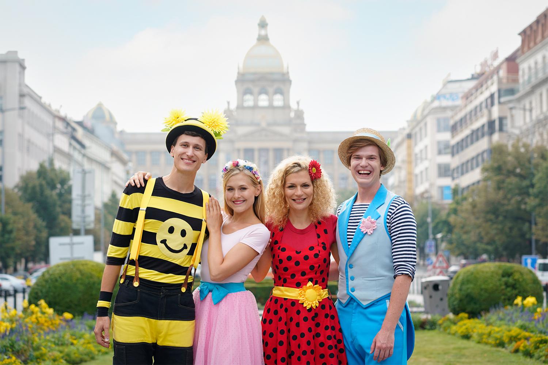 picture Kukino: Smejko a Tanculienka, Štístko a Poupěnka