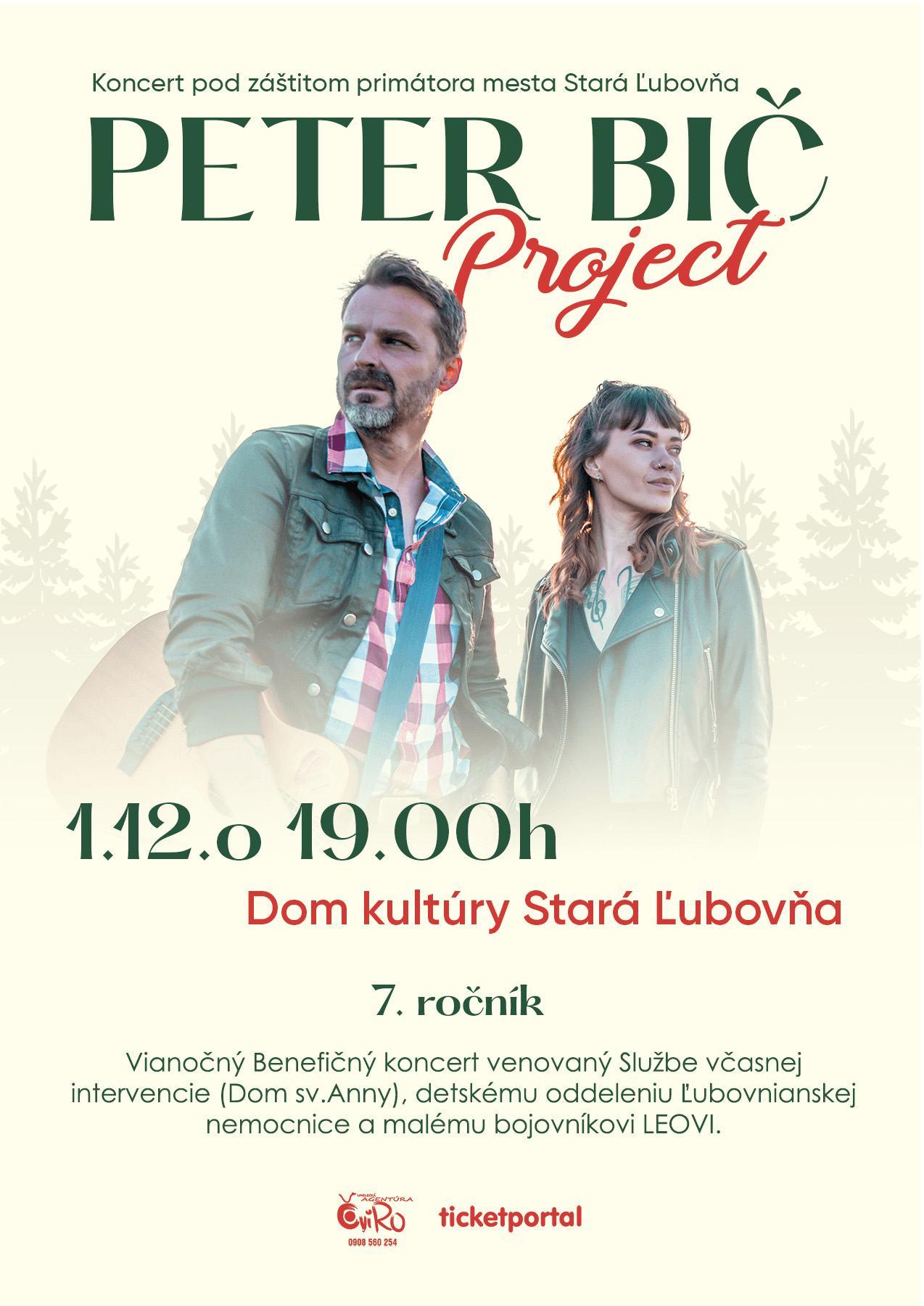 picture Vianocný benefičný koncert Peter Bič Project