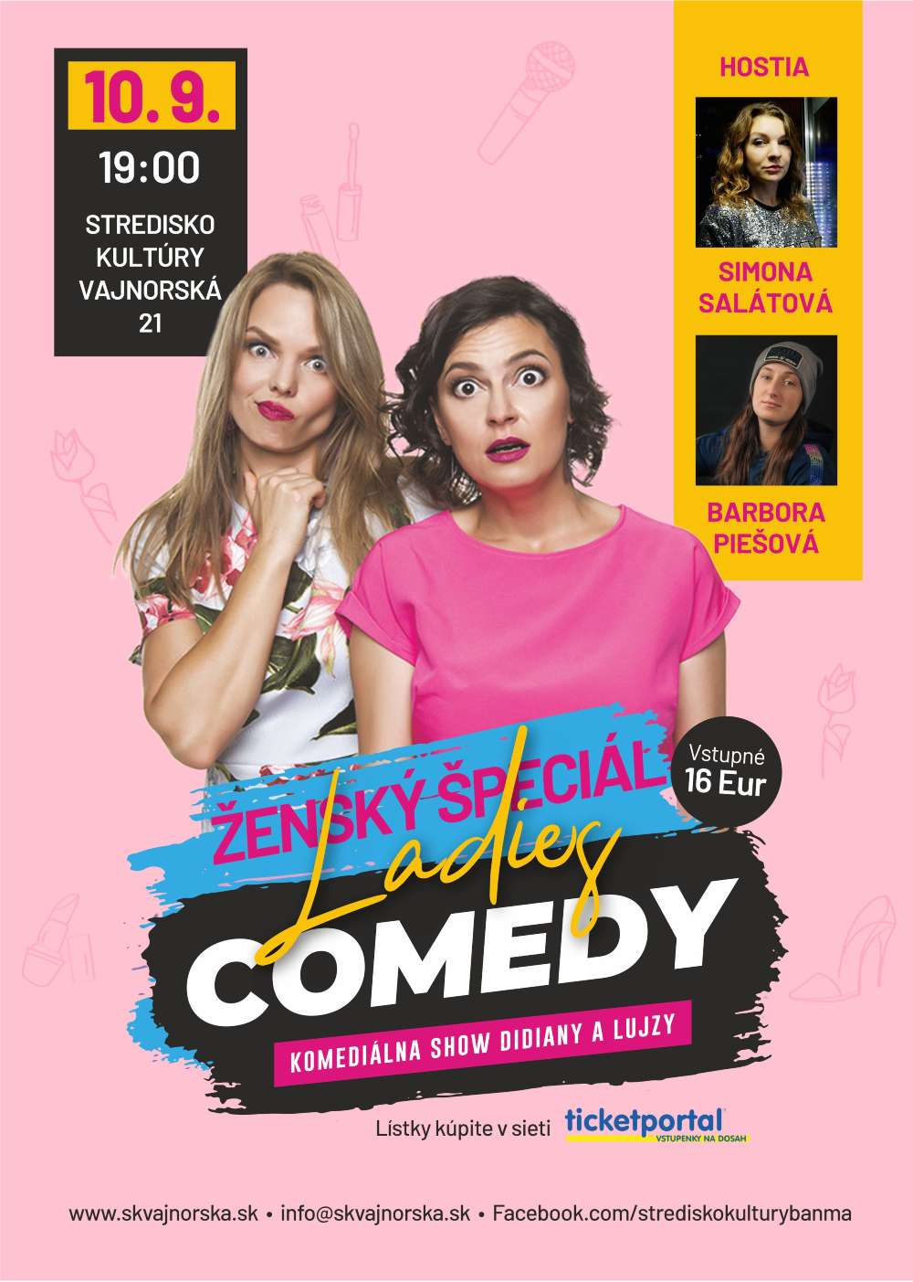 picture LADIES COMEDY S DIDIANOU A LUJZOU