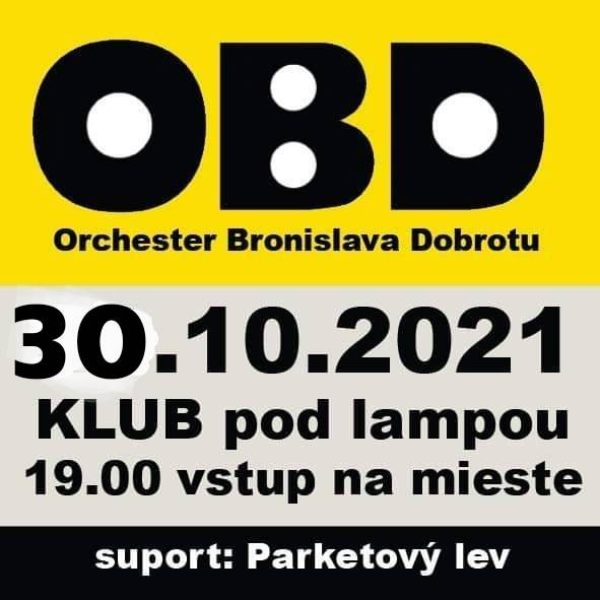 picture Koncert O.B.D Support Parketový lev
