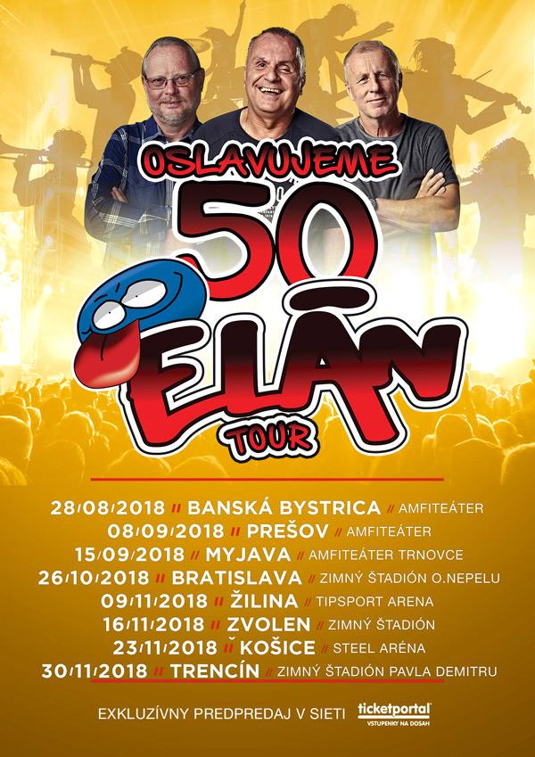 picture ELÁN 50 ROKOV TOUR 2018