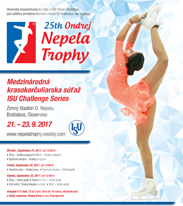 picture 25th Ondrej Nepela Trophy 2017