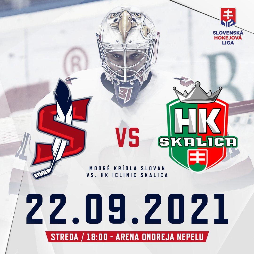 picture Modré krídla Slovan - HK iClinic Skalica (SHL)