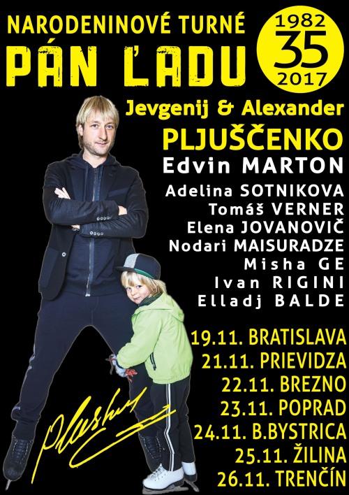 picture JEVGENIJ PLJUŠČENKO - PÁN ĽADU 2017