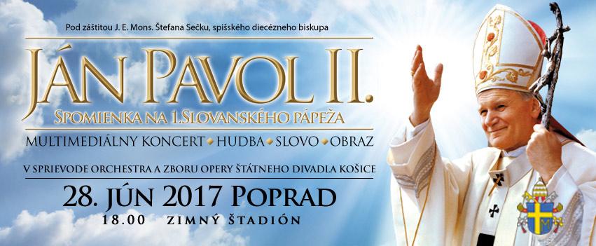 picture JÁN PAVOL II. Spomienka na 1.Slovanského pápeža