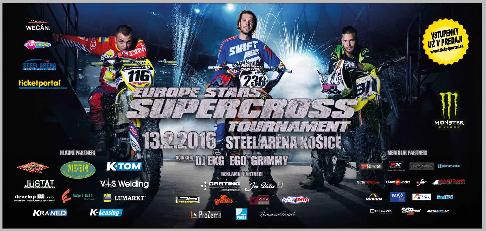 picture EUROPE STARS SUPERCROSS TOURNAMENT 2016