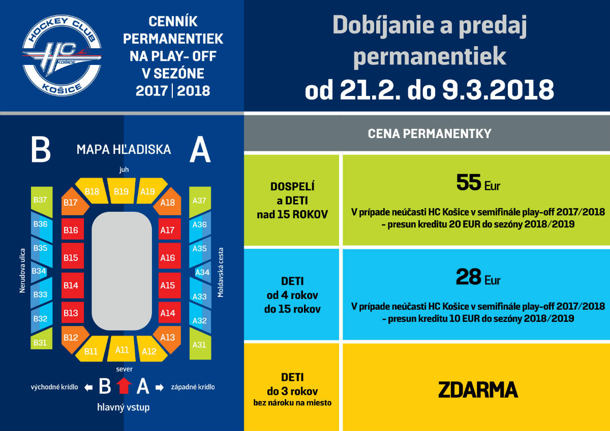 picture HC Košice-Permanentka Play Off časť 2017/18