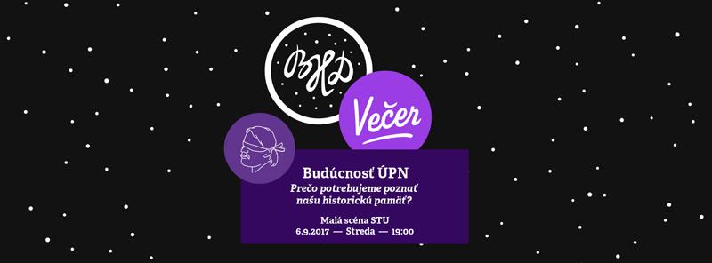 picture BHD večer / Budúcnosť ÚPN