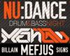NU:DANCE & METHLAB w. Mefjus, Billain, Signs