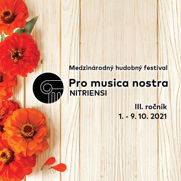 PRO MUSICA NOSTRA NITRIENSI 2021