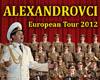 ALEXANDROVCI European tour 2012
