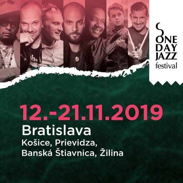 ONE DAY JAZZ FESTIVAL JESEŇ 2019