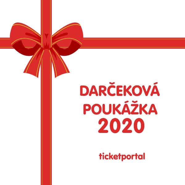 Darčeková poukážka Ticketportal 2020