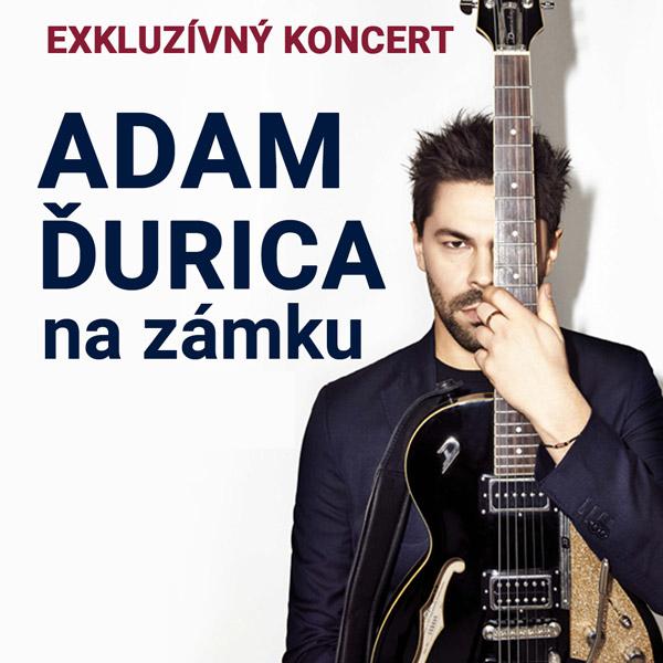 Adam Ďurica–akustický exkluzívny koncert na zámku