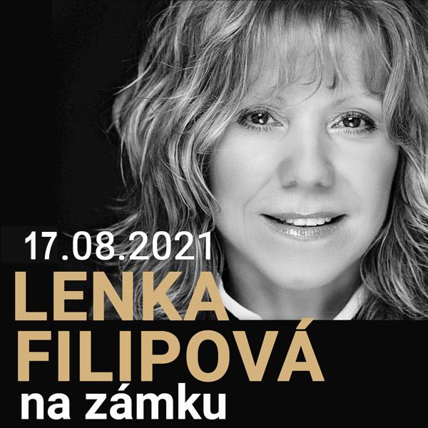 Lenka Filipová na zámku