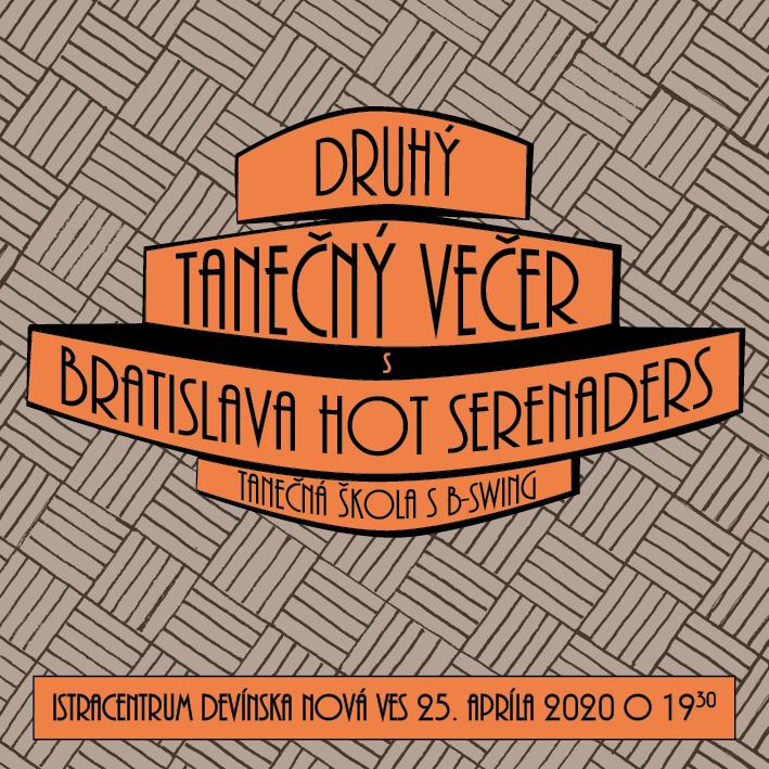 II. Tanečný večer s Bratislava Hot Serenaders