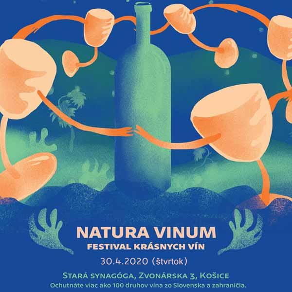Natura Vinum 2020 – festival krásnych vín