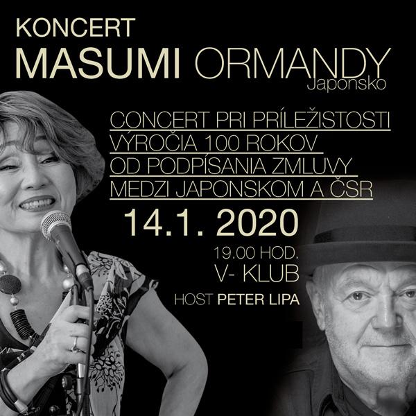 Koncert: Masumi Ormandy / Japonsko