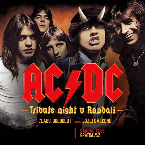 AC/DC Tribute night v Randali