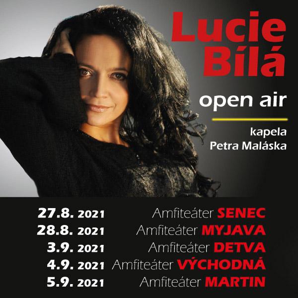 LUCIE BÍLÁ open air