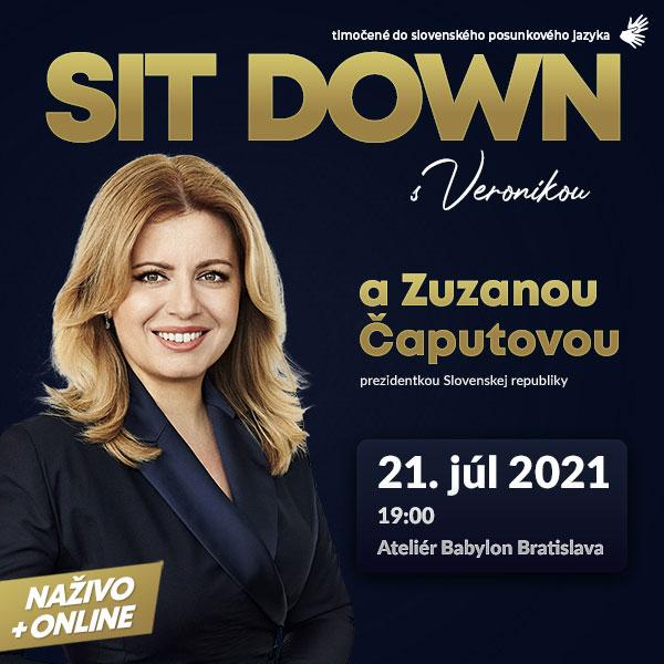 Sit Down s Veronikou