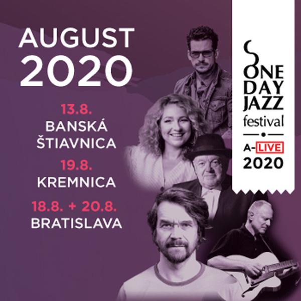ONE DAY JAZZ FESTIVAL LETO 2020