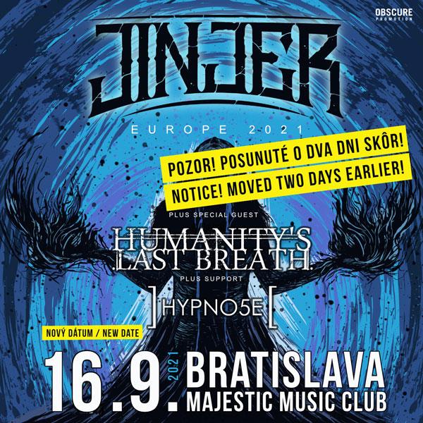 JINJER, HUMANITY´S LAST BREATH, HYPNO5E