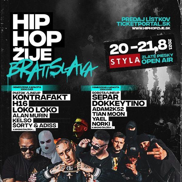 Hip Hop ŽIJE Bratislava  2021