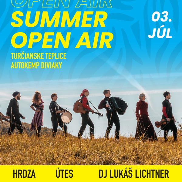 Summer open air - HRDZA, ÚTES, LUKÁŠ LICHTNER