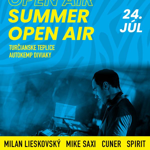 Summer open air - Milan Lieskovský, Mike Saxi,