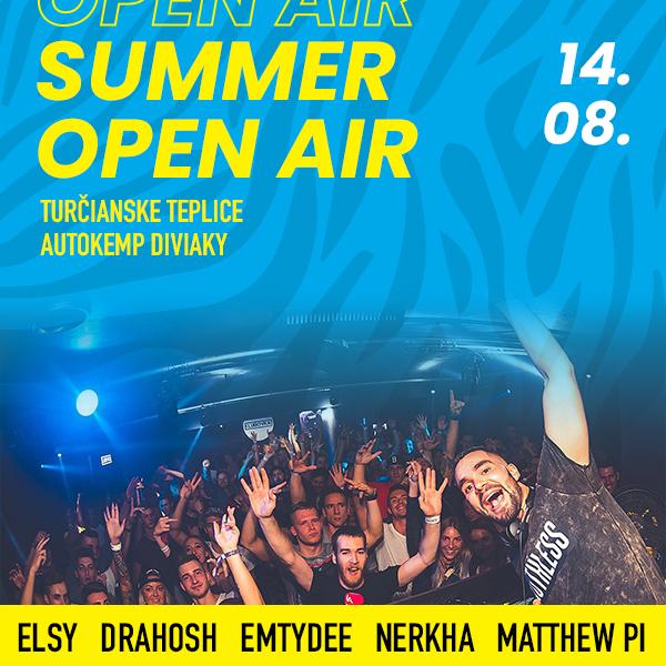 Summer open air - Elsy, Drahosh, EMTYDEE, Nerkha