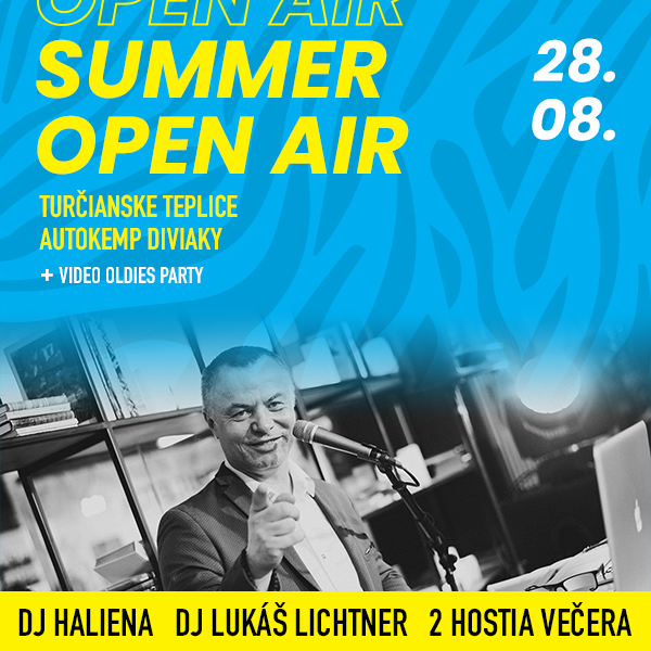 Summer open air - Video oldies party