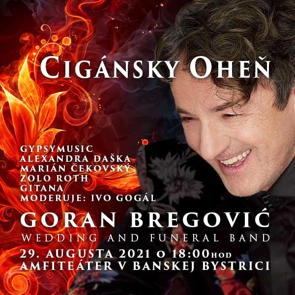 Cigánsky oheň 2021 - Goran Bregovič