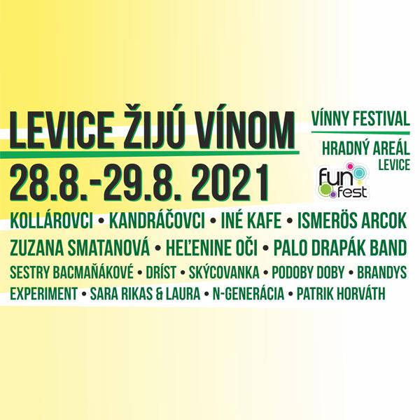 LEVICE ŽIJÚ VÍNOM (vínny festival / borfesztivál)
