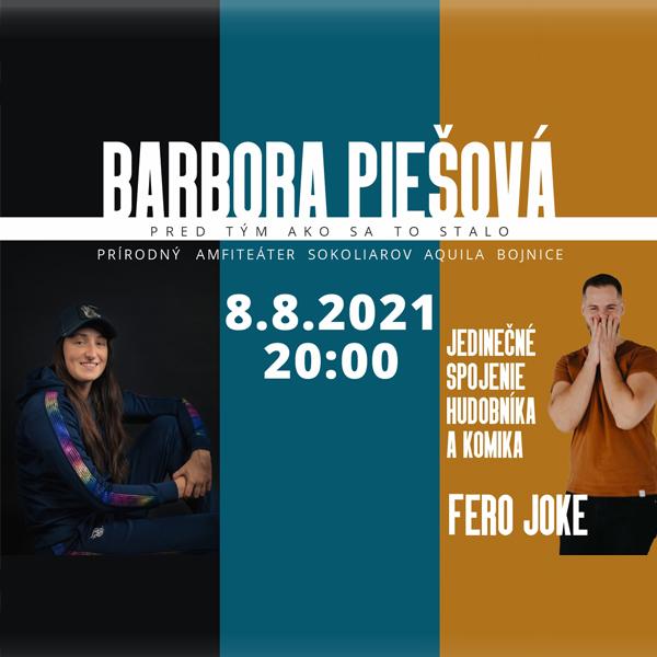 Barbora Piešová a Fero Joke