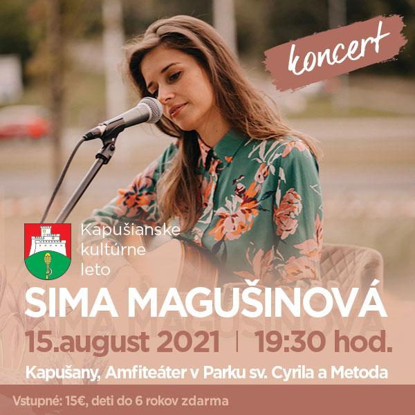 Koncert Sima Magušinová