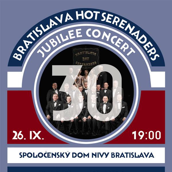 Bratislava Hot Serenaders - Jubilee concert