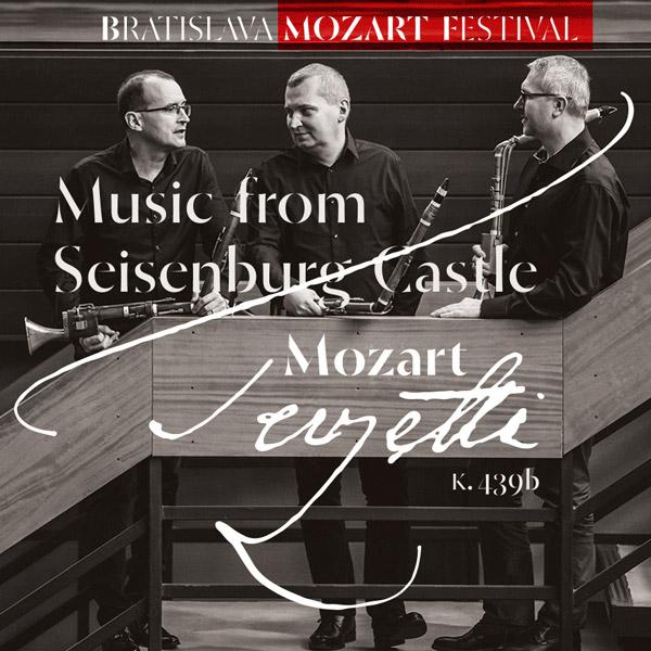 MOZART: Hudba z hradu Seisenburg – Lotz Trio