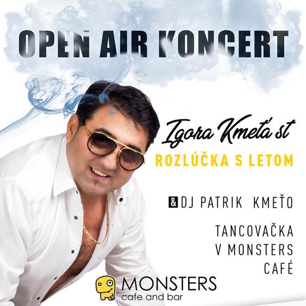 Igor Kmeťo st. + DJ Patrik Kmeťo + TANCOVAČKA